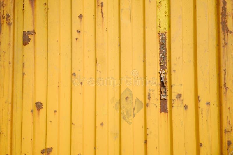 Текстура контейнера ржавчины стоковая фотография