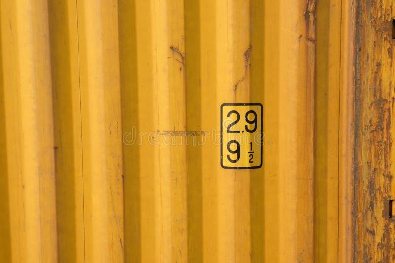 Текстура контейнера ржавчины стоковые изображения rf