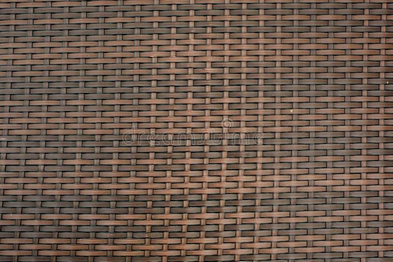 Текстура конца-вверх корзины ротанга стоковая фотография rf