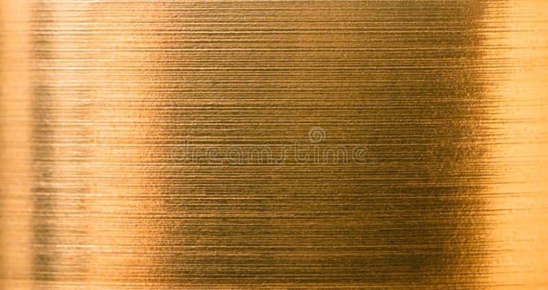 Текстура конца-вверх сусального золота стоковое фото rf