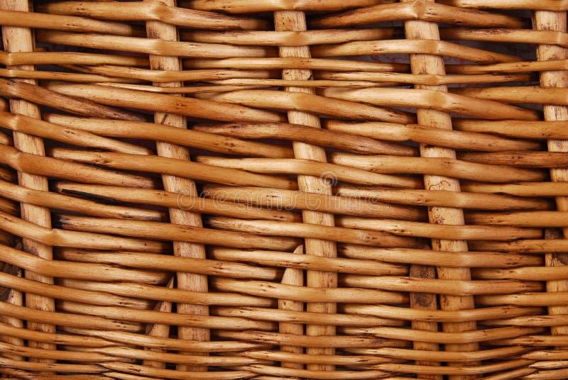 Текстура корзины Wicker стоковые фото