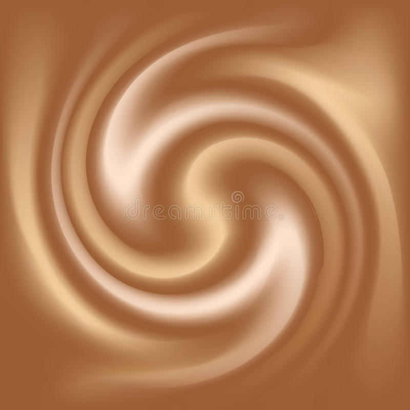 Текстура кофе и молока иллюстрация штока