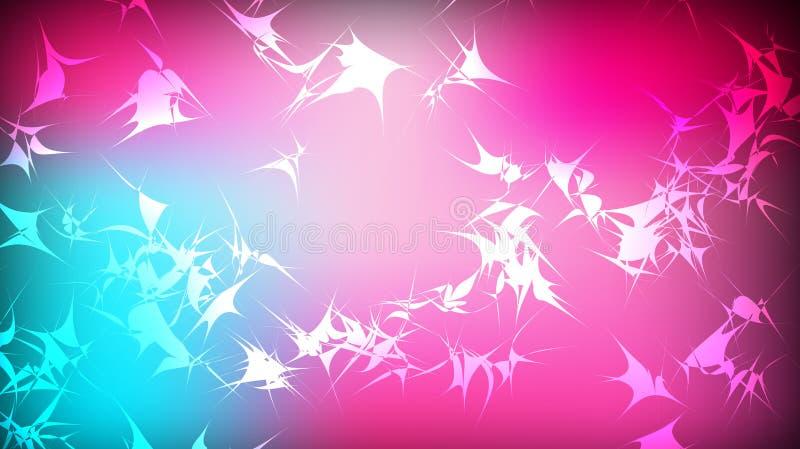 Текстура красивого праздничного полигонального кругового космического волшебного пестротканого покрашенного далекого яркого голуб иллюстрация вектора