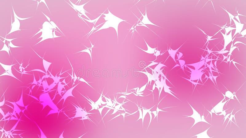 Текстура красивого праздничного полигонального кругового космического волшебного пестротканого покрашенного далекого яркого розов бесплатная иллюстрация