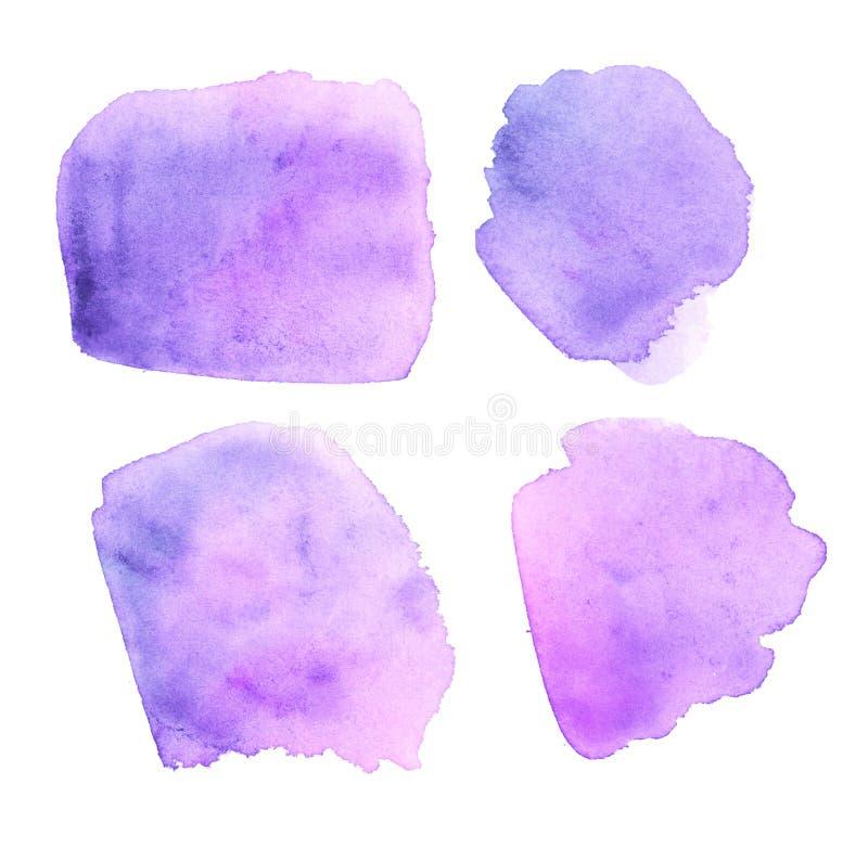 Текстура краски цвета бледного фиолета бесплатная иллюстрация