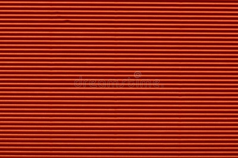 Текстура красной гофрированной бумаги стоковая фотография rf