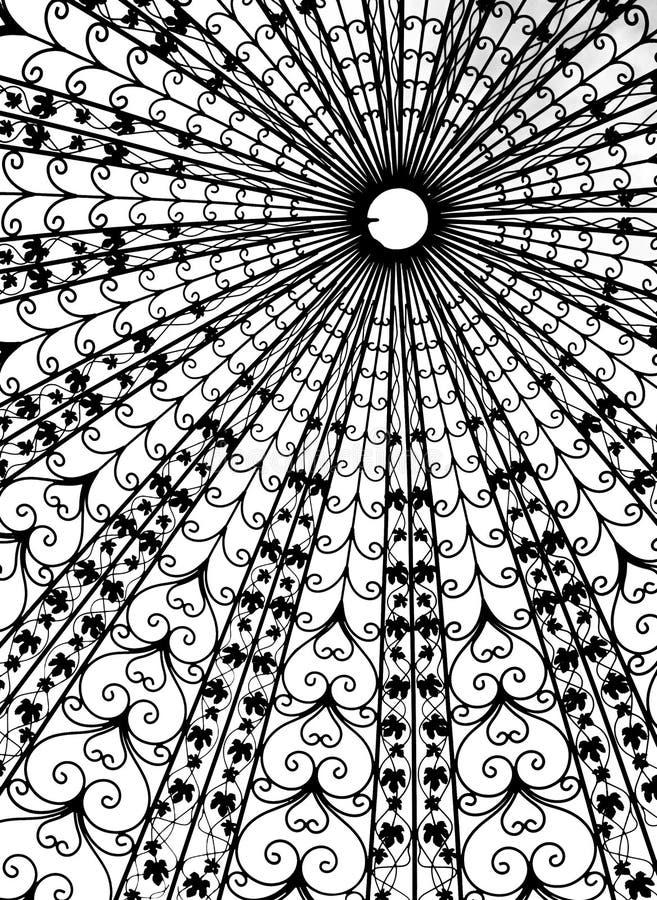 Текстура крыши купола стоковое изображение