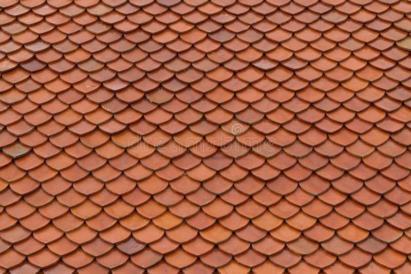 Текстура крыши плитки стоковое изображение