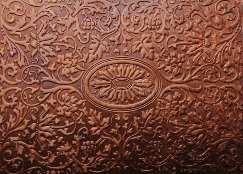 текстура крышки книги старая стоковая фотография rf