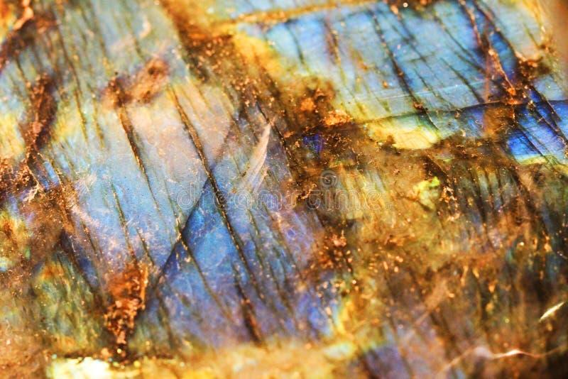 текстура лабрадорита минеральная стоковые фото