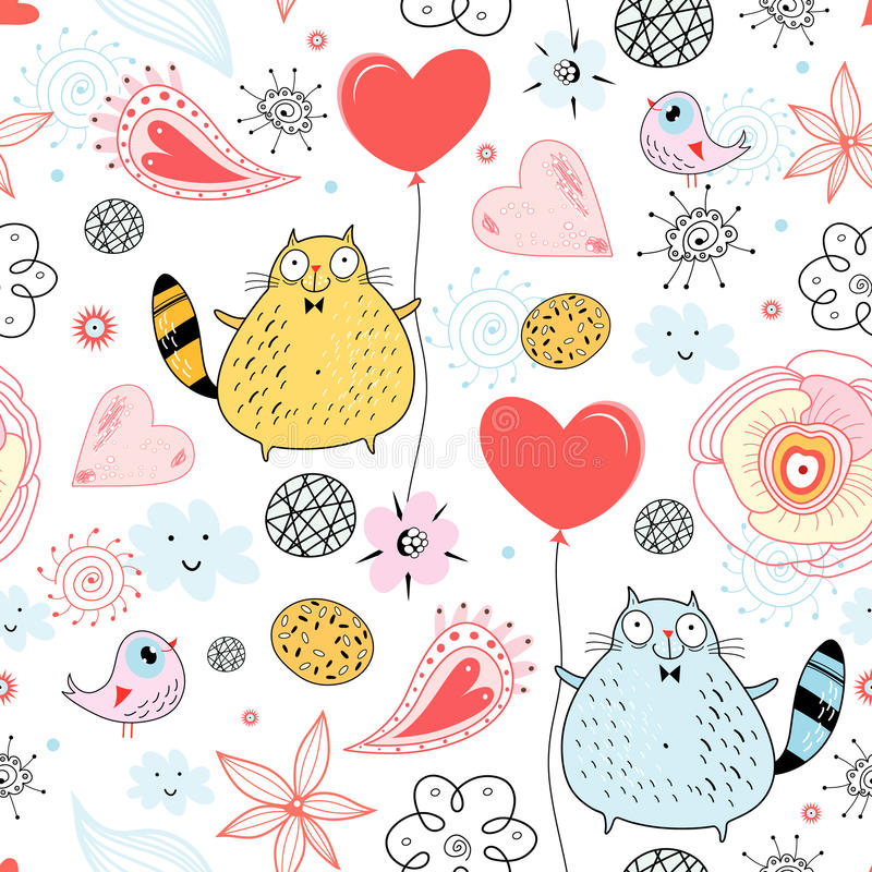 текстура любовника кота бесплатная иллюстрация