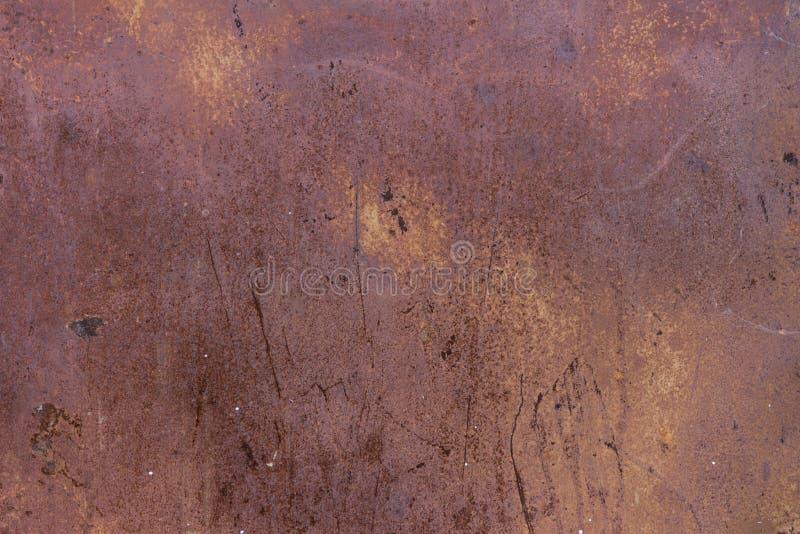 Текстура металла высококачественного grunge ржавая, текстура ржавой железной двери, стены стоковое фото rf