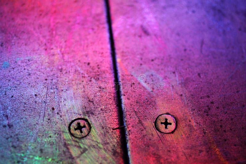 Текстура металла в пурпуре стоковые изображения rf