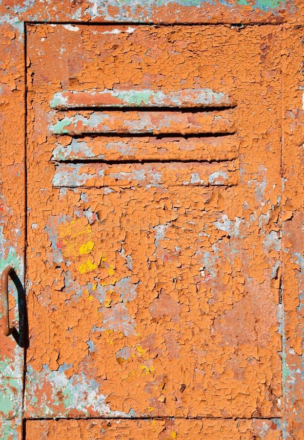 текстура металла двери старая стоковые изображения rf