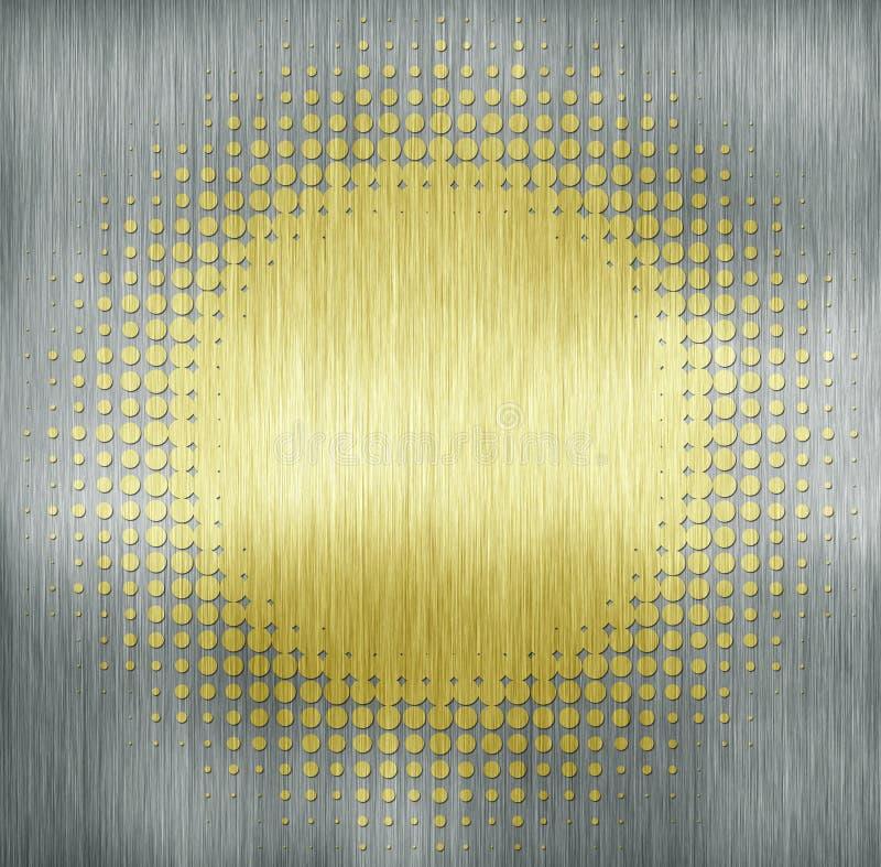 текстура металла многоточия иллюстрация штока