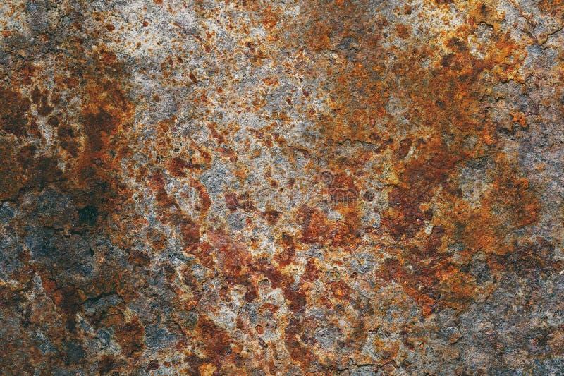 Текстура металла предусматривана с корозией стоковая фотография
