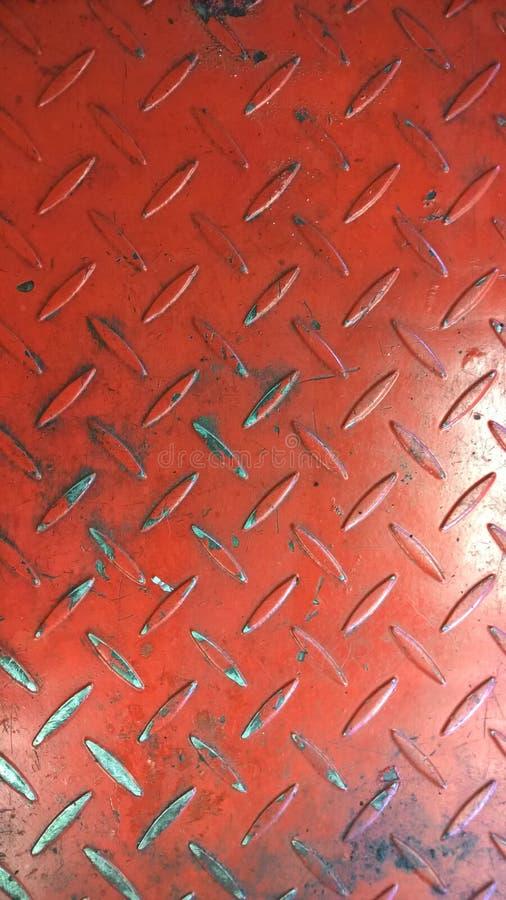 текстура металла старая красная ржавая стоковое фото