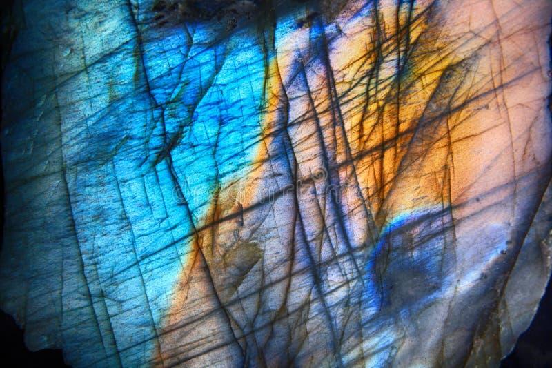 текстура минерала лабрадорита стоковые изображения rf