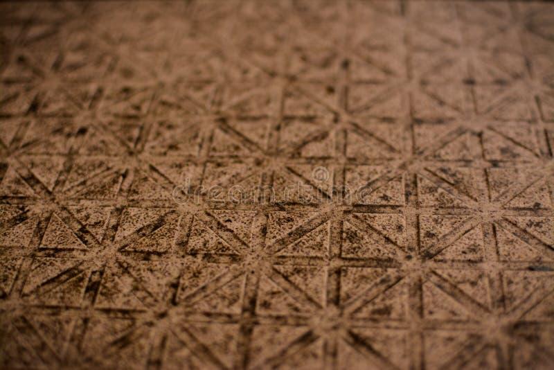 Текстура мозаики красного цвета кирпича стоковая фотография