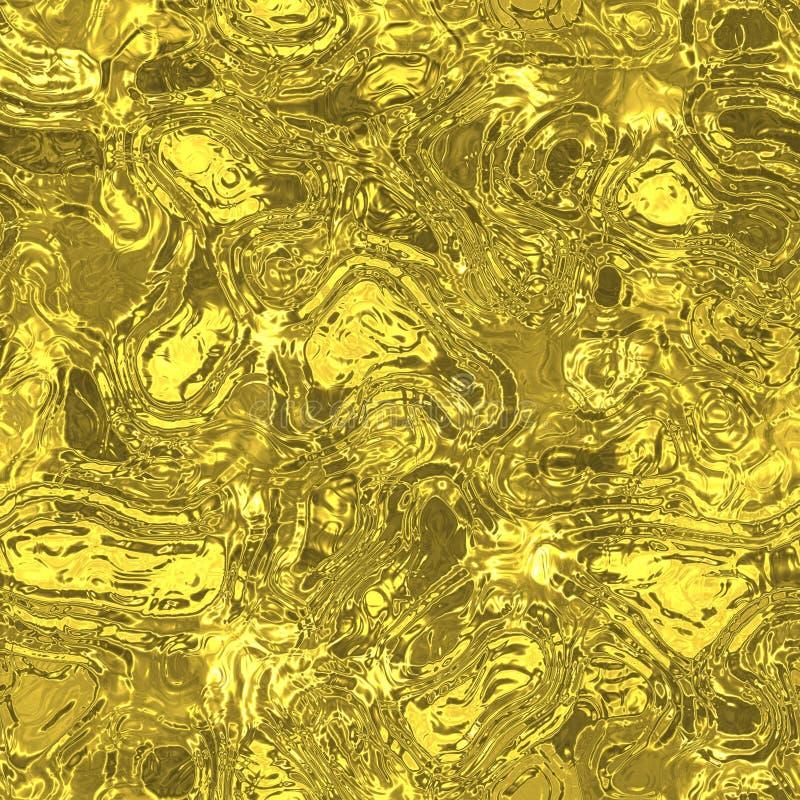 Текстура наймов металла Melt жидкая безшовная произведенная иллюстрация штока
