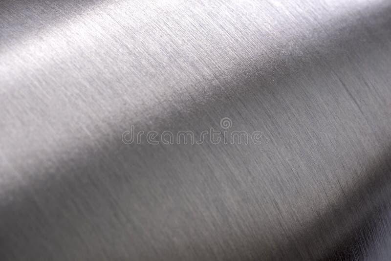Текстура нержавеющей стали, округленный металл стоковая фотография