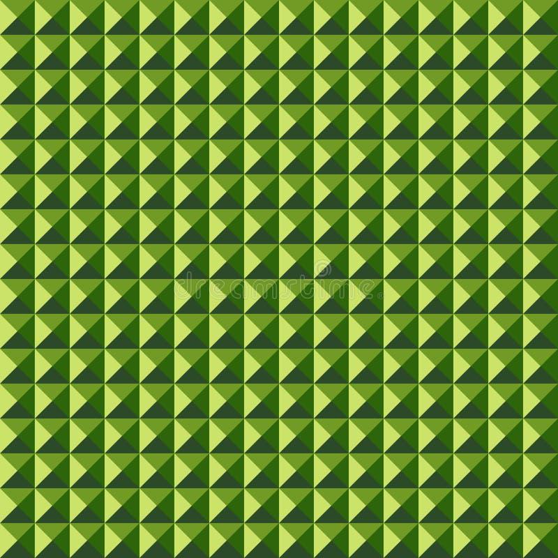 Текстура низкого поли квадрата конспекта полигона безшовная выступает иллюстрация штока