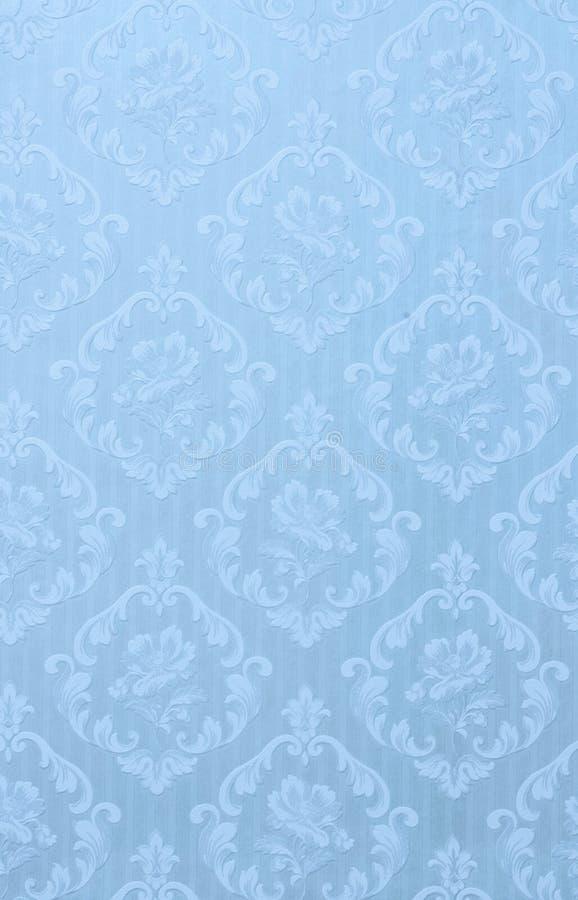 Текстура обоев в голубом тоне стоковые фотографии rf