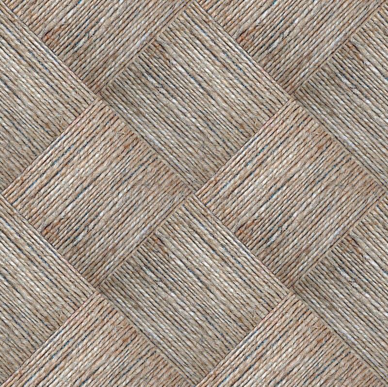Текстура пеньковой веревки стоковые изображения rf