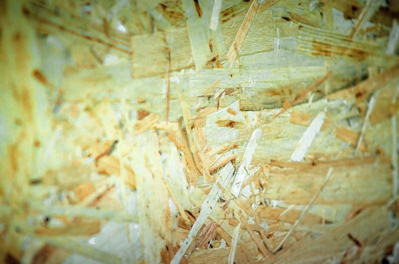 Текстура переклейки Картина отжатой деревянной предпосылки панели o стоковое фото