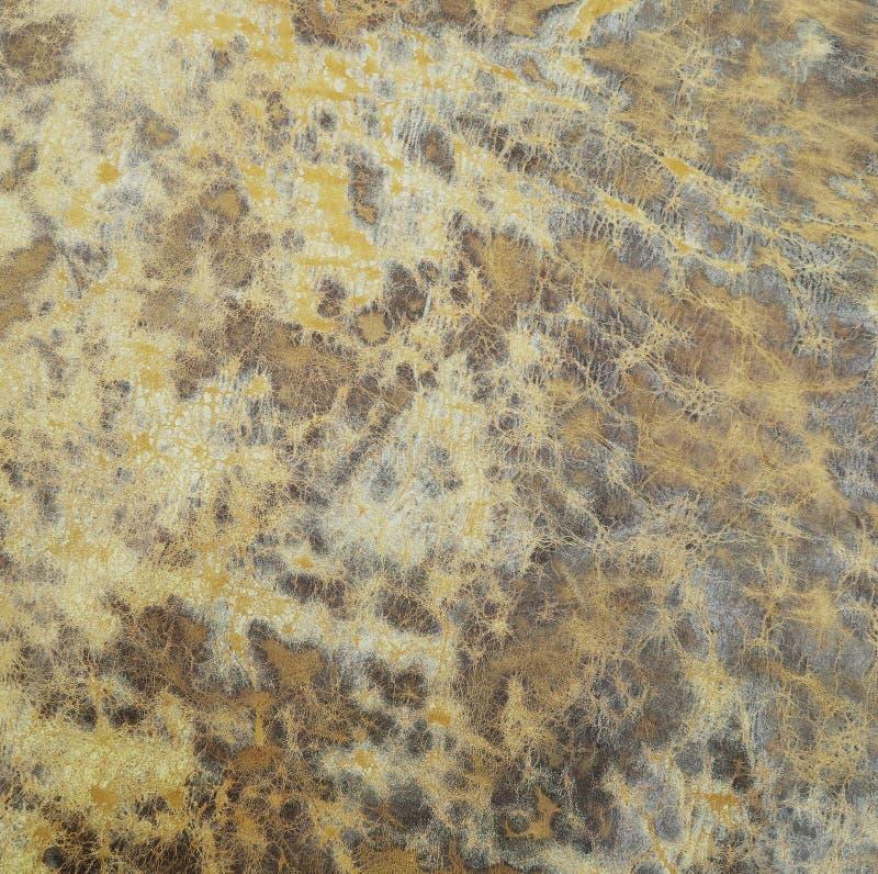 Текстура печати кислоты Брайна помытая кожаная стоковое фото rf