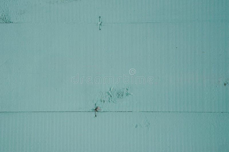 Текстура поверхности покрашенной доски бирюзы стоковая фотография