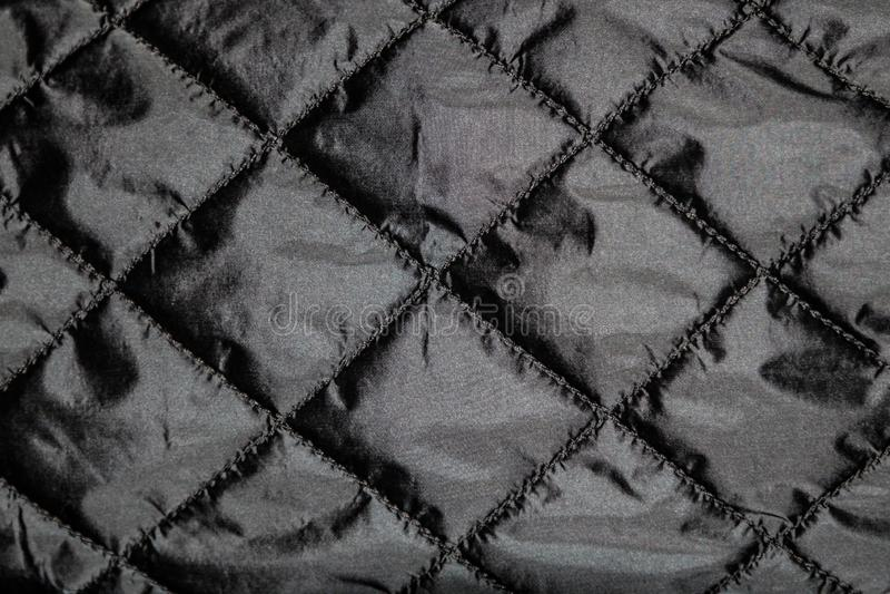 Текстура поверхности ткани темной ткани creasy стоковые фото