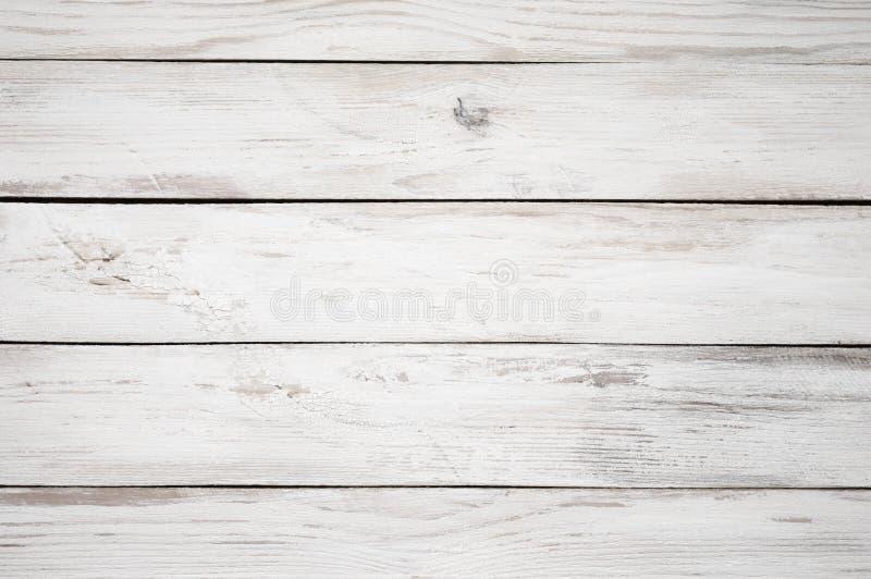 Текстура покрашенная белизной деревянная стоковые фотографии rf