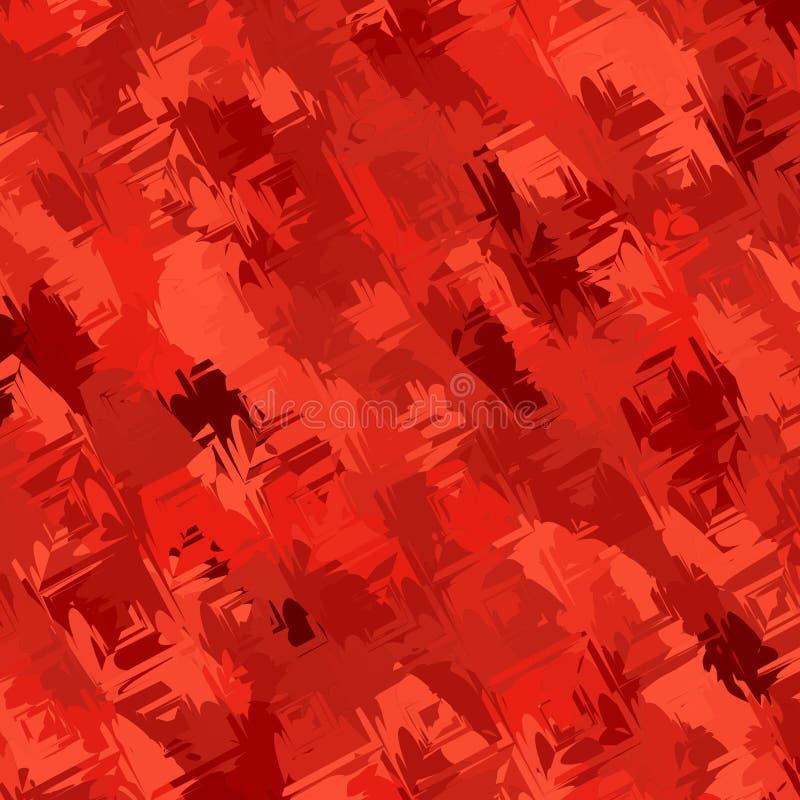 Текстура/покрашенный красный цвет предпосылки фантазии бесплатная иллюстрация