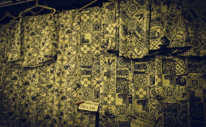 Текстура Португалия ткани стоковое фото rf