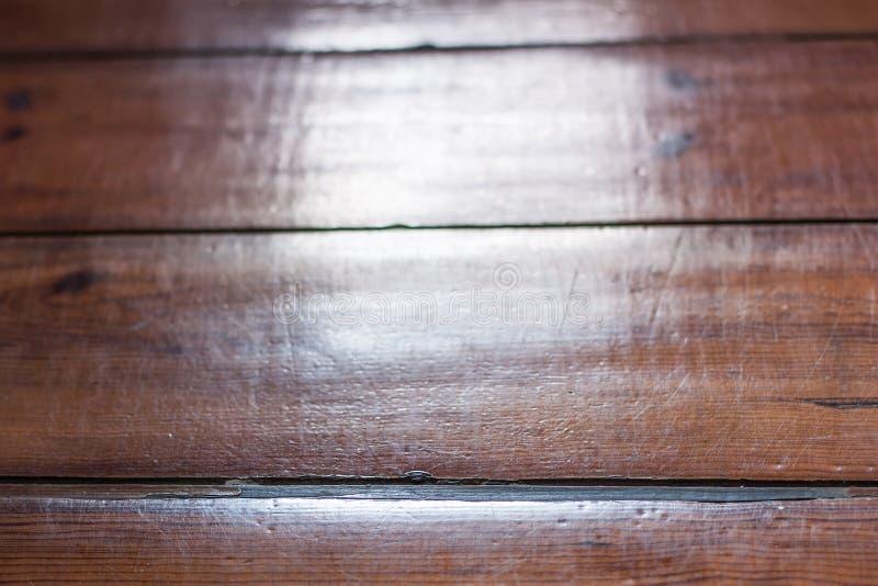 Текстура пола деревянных доск - деревянной предпосылки Деревянная планка стоковое фото rf