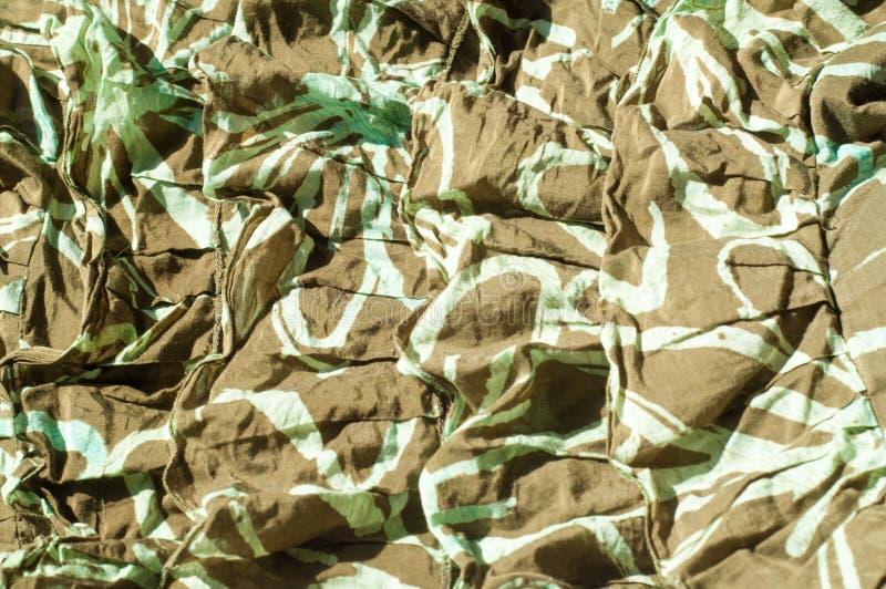Текстура, предпосылка, картина Юбка женщин Prote хлопка ткани стоковое фото rf