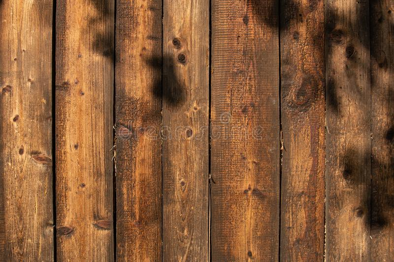 Текстура предпосылки Брауна деревянная или старые коричневые деревянные панели с картиной естественной древесины, красивой деревя стоковая фотография