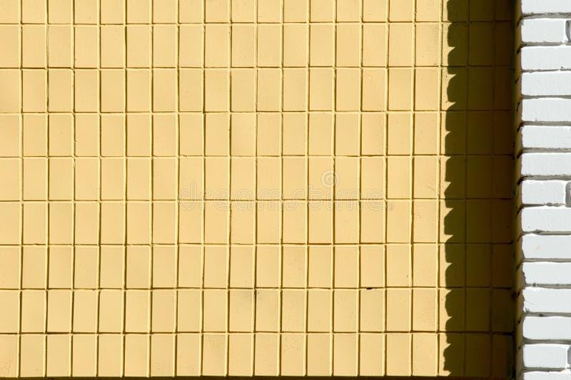 текстура предпосылки, изображение покрашенный кирпич малое прямоугольное стоковые фото