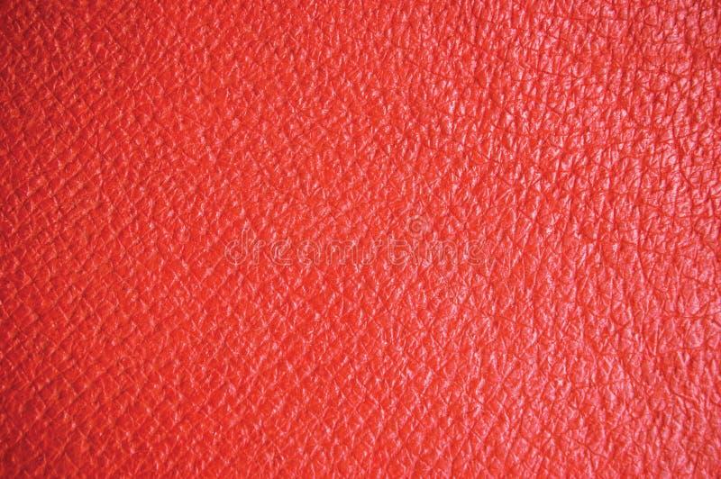 текстура предпосылки кожаная красная стоковые фото