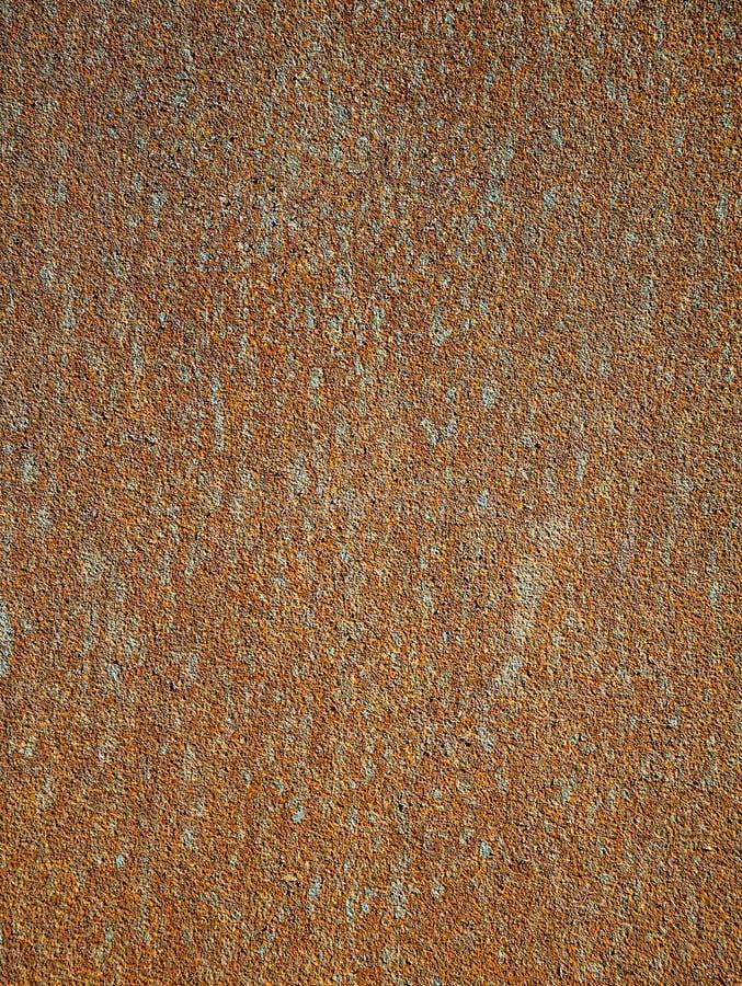 Текстура предпосылки металлического листа ржавчины красного и оранжевого цвета, покрытого с ржавчиной стоковое изображение