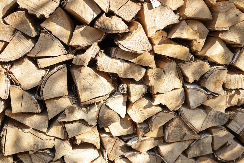 Текстура предпосылки прерванной древесины стоковая фотография rf