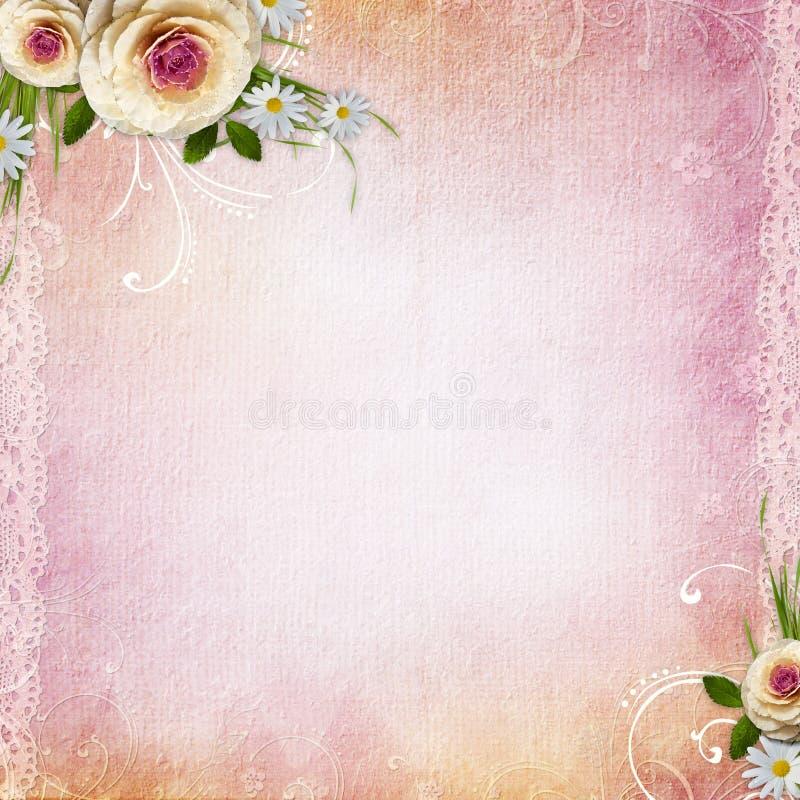 текстура предпосылки розовая иллюстрация вектора