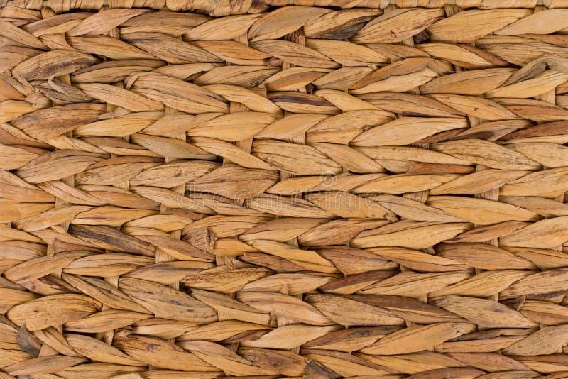Текстура предпосылки сплетенной циновки стоковые изображения rf