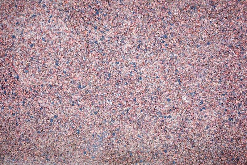 Текстура предпосылки стены brougham мякиш гранита Красный мякиш гранита стоковая фотография rf