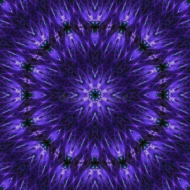 текстура предпосылки цифрового воображения оформления живая творческая, мода мандалы баланса, волшебство, краска бесплатная иллюстрация