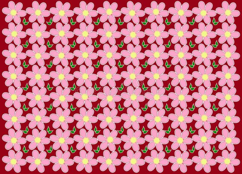 текстура предпосылка цветет красный цвет стоковые изображения rf