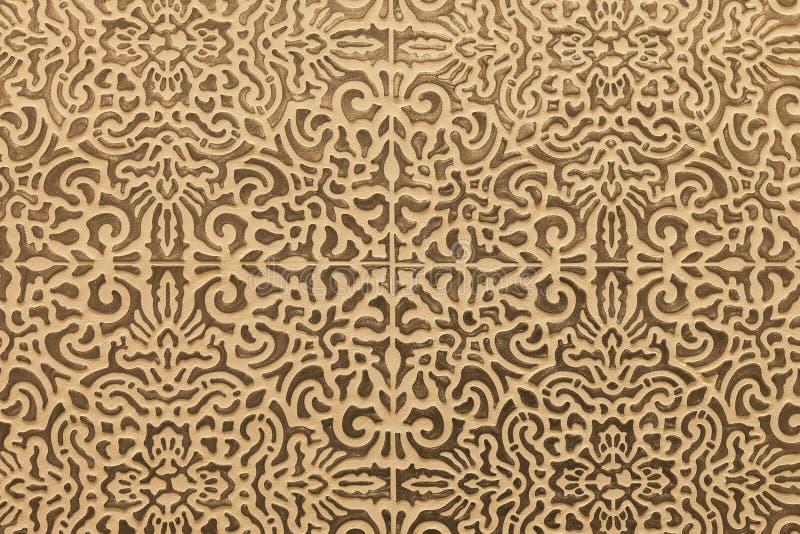 Текстура предпосылки бетонной стены плитки Tracery безшовная стоковые изображения