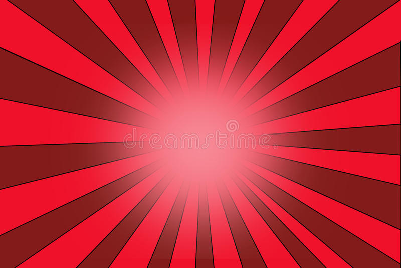 Текстура предпосылки взрыва звезды с красными нашивками иллюстрация вектора
