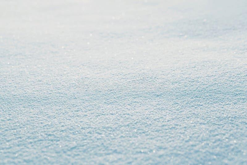 Текстура предпосылки зимы снега пустой абстрактной стоковые фотографии rf